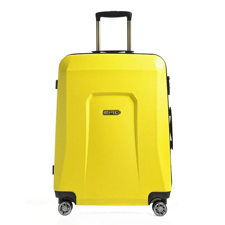 Hård resväska - EPIC HDX Hexacore 73 Yellow Glow - PICKPACK 082a7138f536c