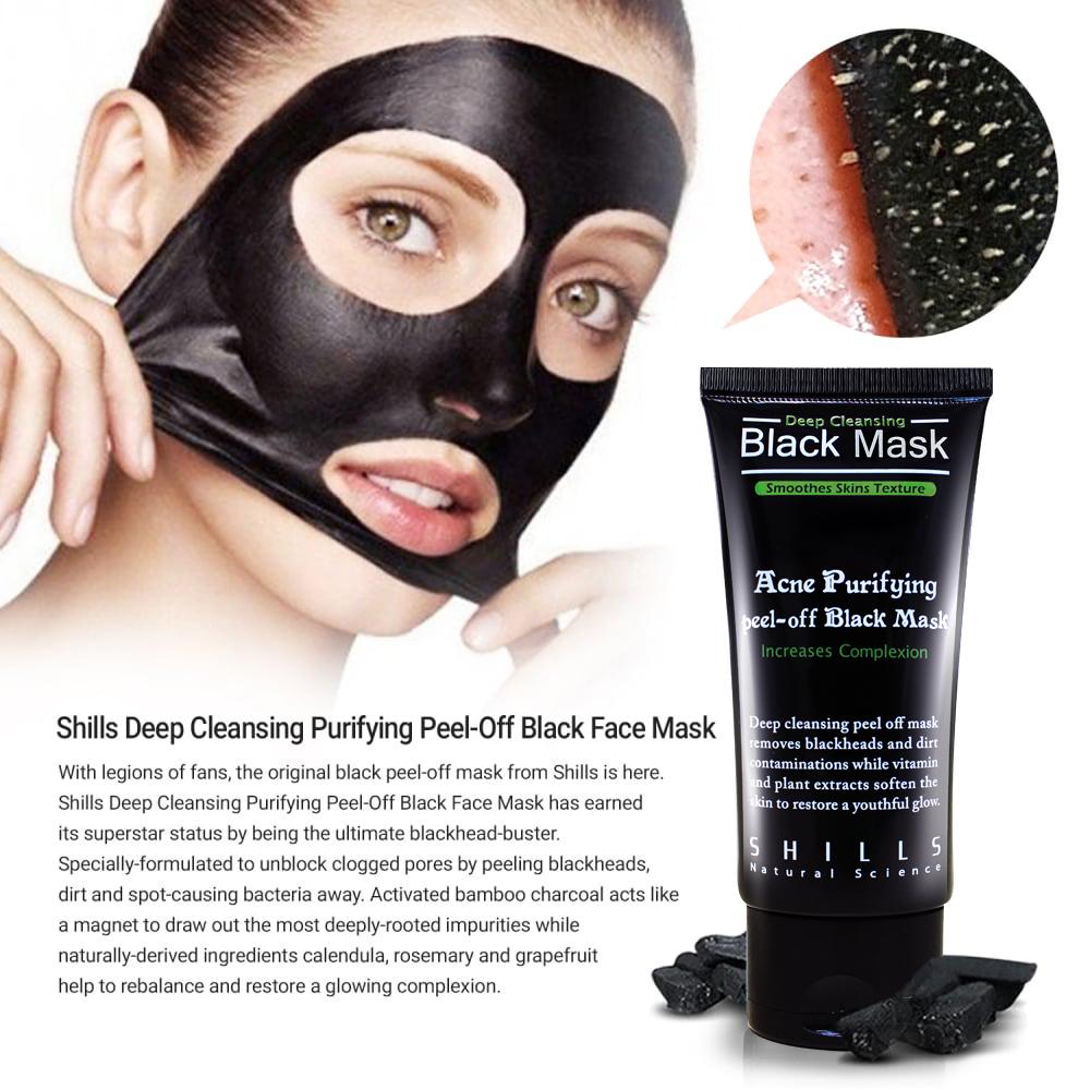 Black mask ansiktsmask