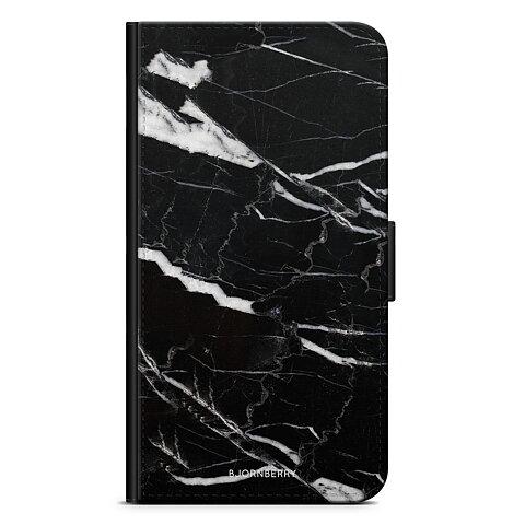 iPhone 5 5s SE Plånboksfodral - Svart Marmor 5e6d5b543b91d