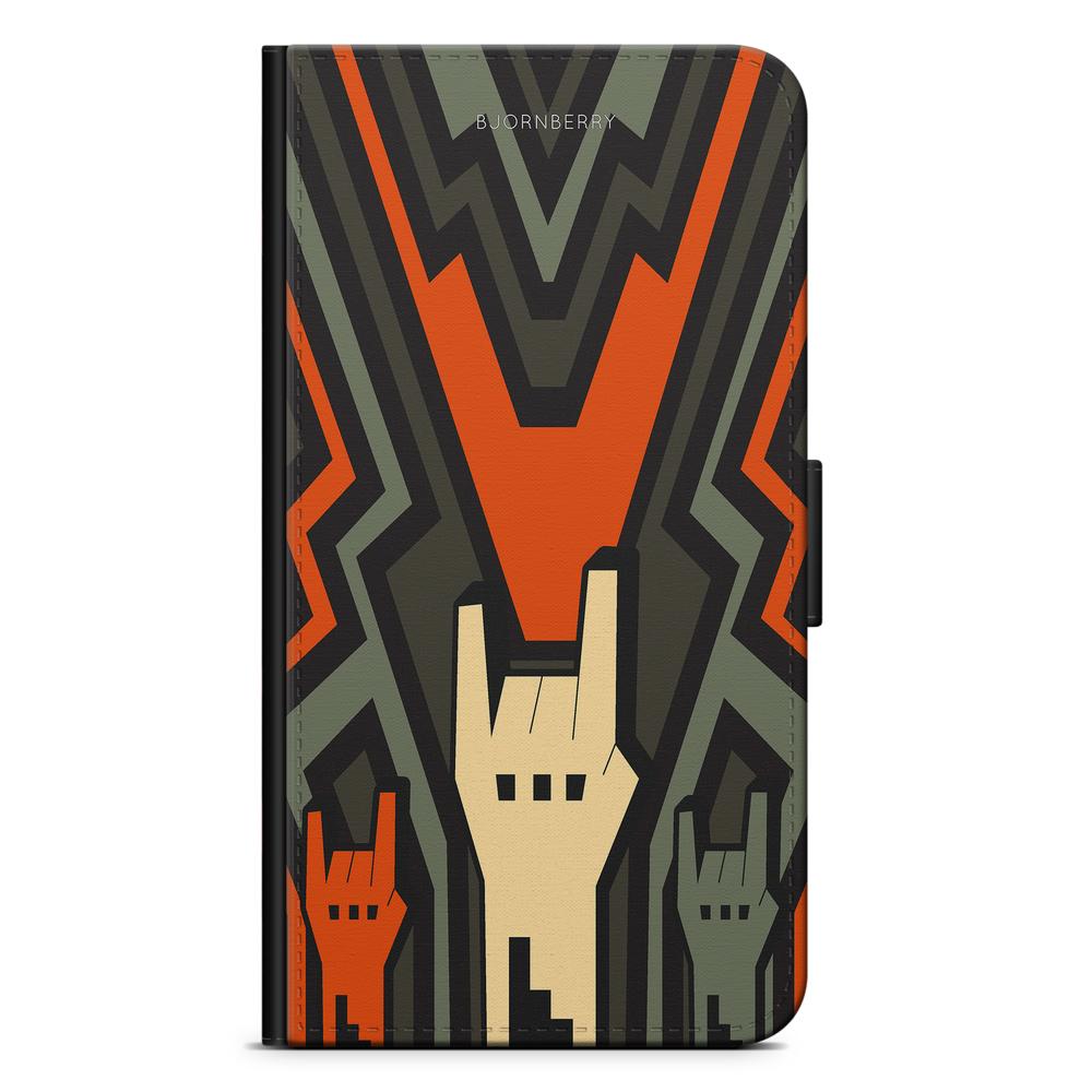 Motorola Moto G5S Plus Plånboksfodral - Rock Händer - Bjornberry f778eb097233d