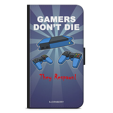iPhone 5 5s SE Plånboksfodral - Gamers Dont Die 574887e0baee6