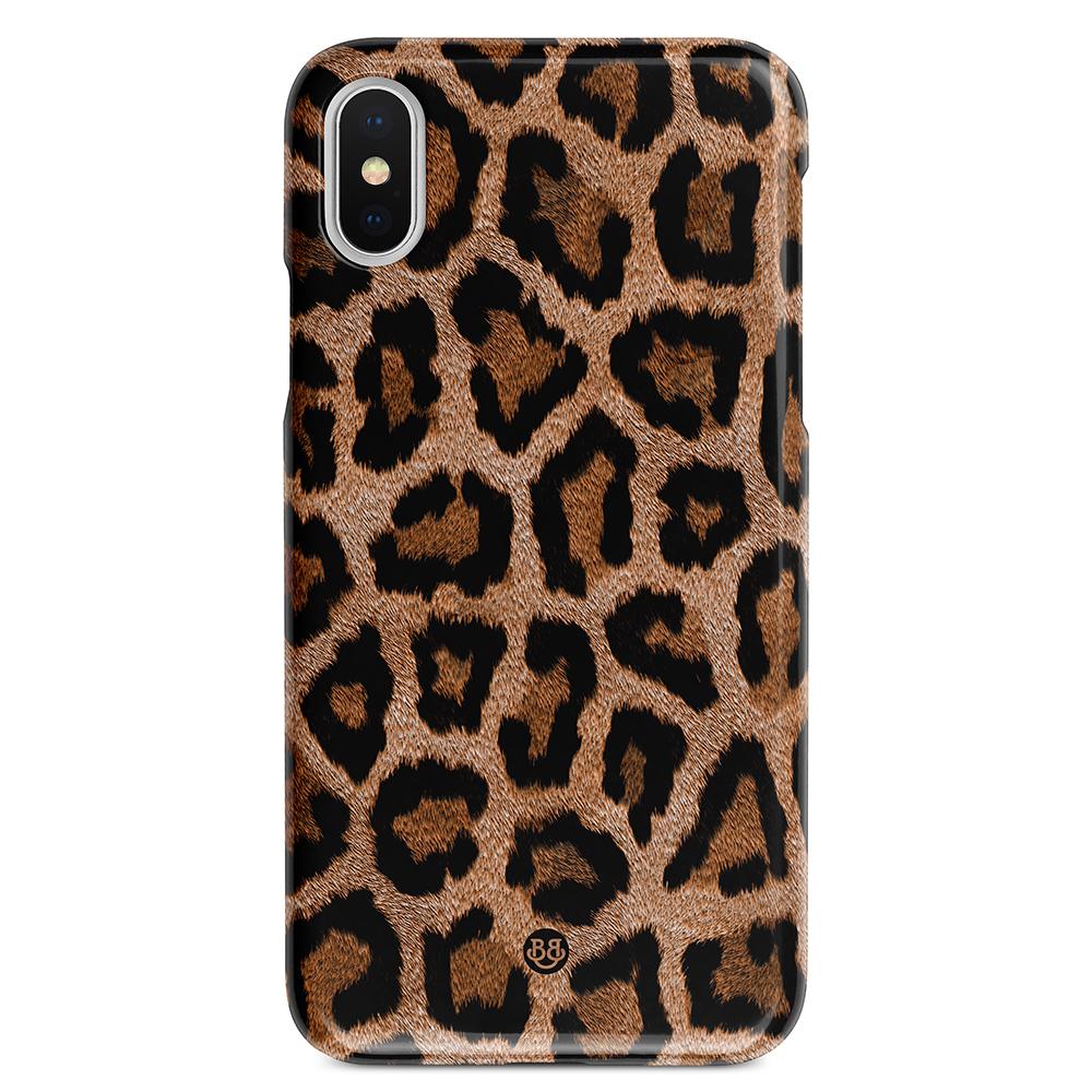 iPhone X   XS Premium Skal - Leopard - Bjornberry 34ddb512f5235