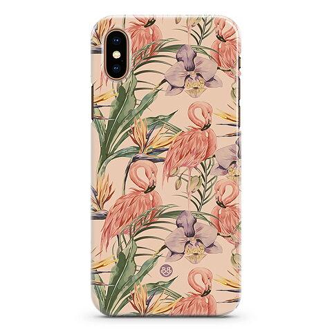 iPhone X   XS Premium Skal - Flamingos 2a19160effda2