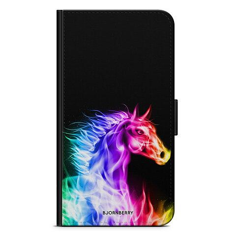 iPhone 5 5s SE Plånboksfodral - Flames Horse 00f56cb878d15