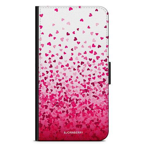 iPhone 5 5s SE Plånboksfodral - Hjärtkonfetti bbbc7b2e6790d