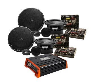 2-pack GAS Silver 5.25tums kit + GAS PRO 80.4 - CD BILRADIO AB 2421bc8f8f9d8