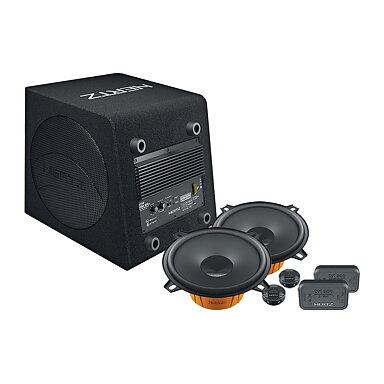 Hertz DBA 200.3 med Hertz DSK-högtalarkit 1fedaa23fcc27