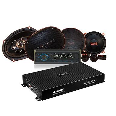 GAS GM100   2par Alpha-högtalare med Alpha 80.4 f93d80abfdb4a