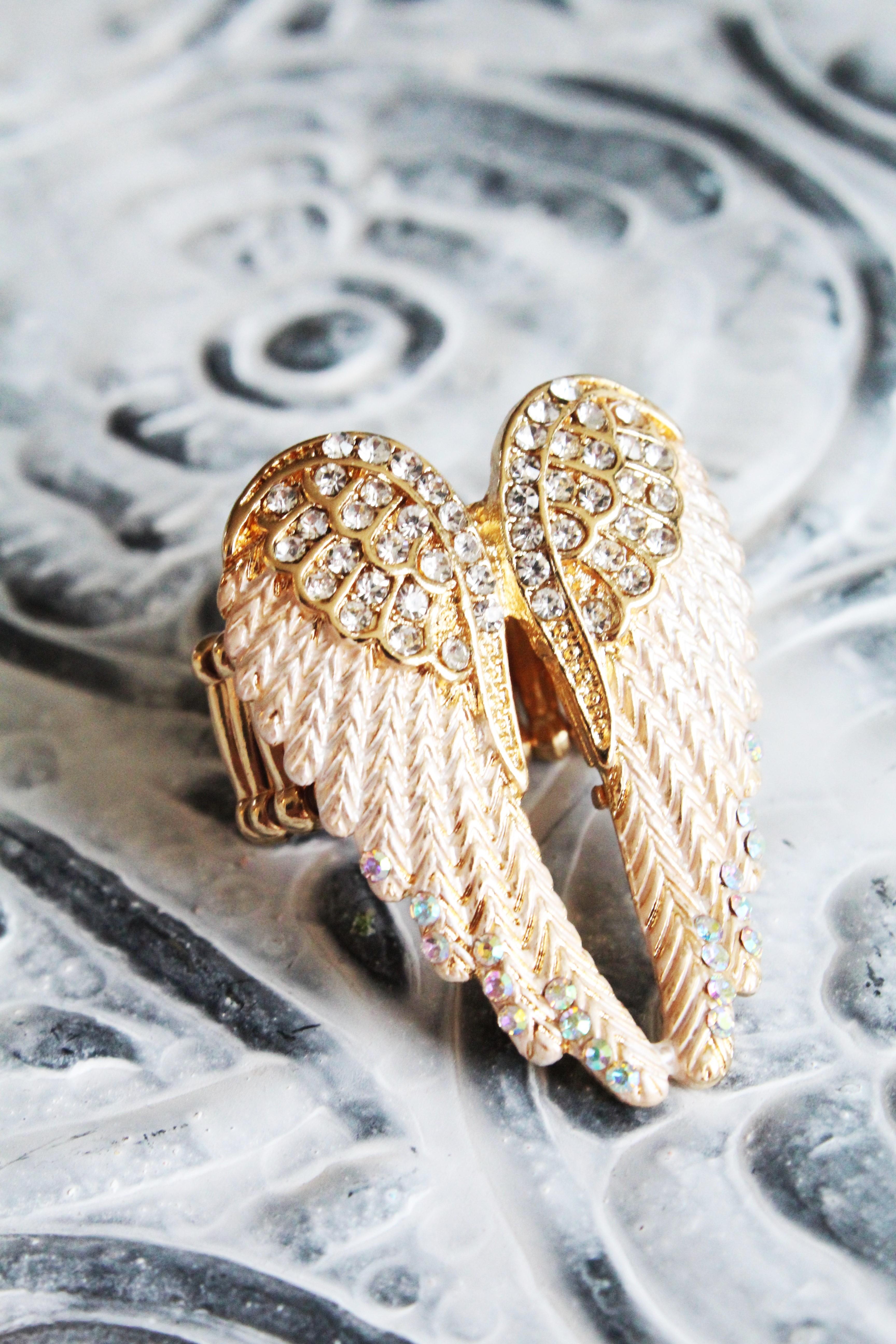 Smycken Ringar Ring Änglavingar Guld. Previous. Next. Previous 3083656bcd2bd