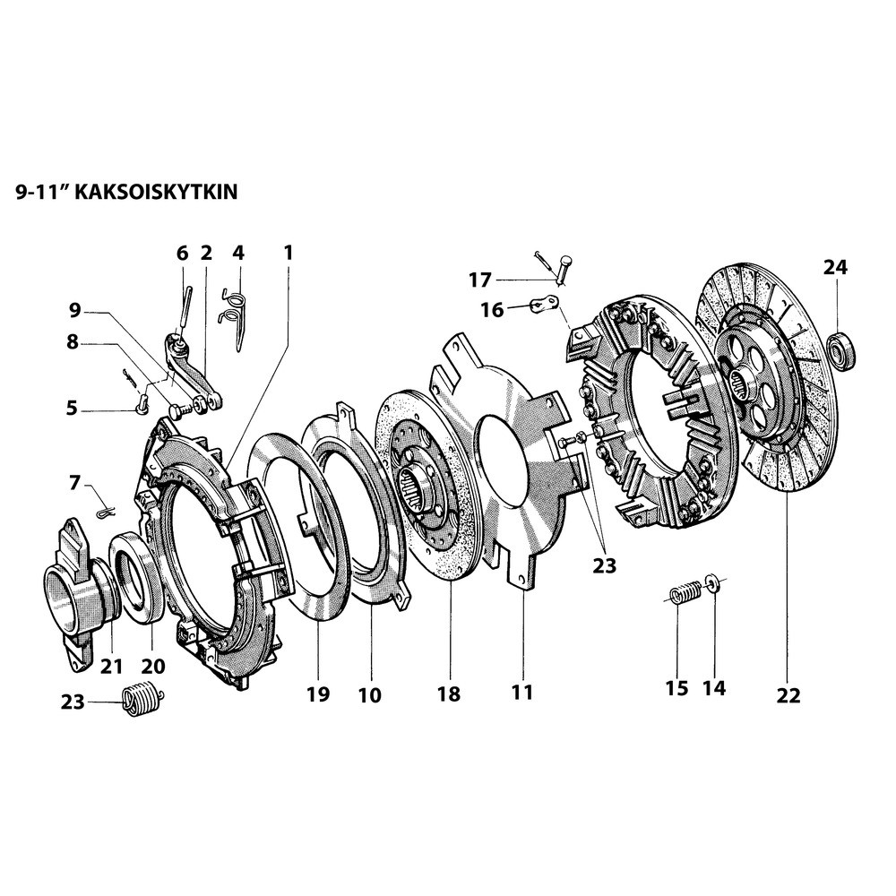 Pin Mf 181118m1 Svith Ford 1910 Tractor Wiring Diagram