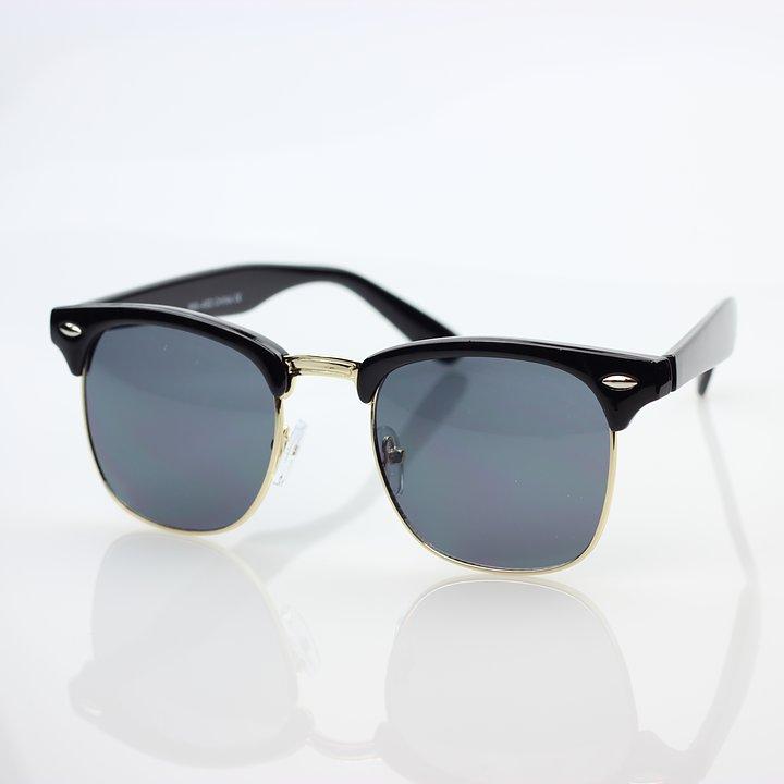 Browline Black Sunglasses