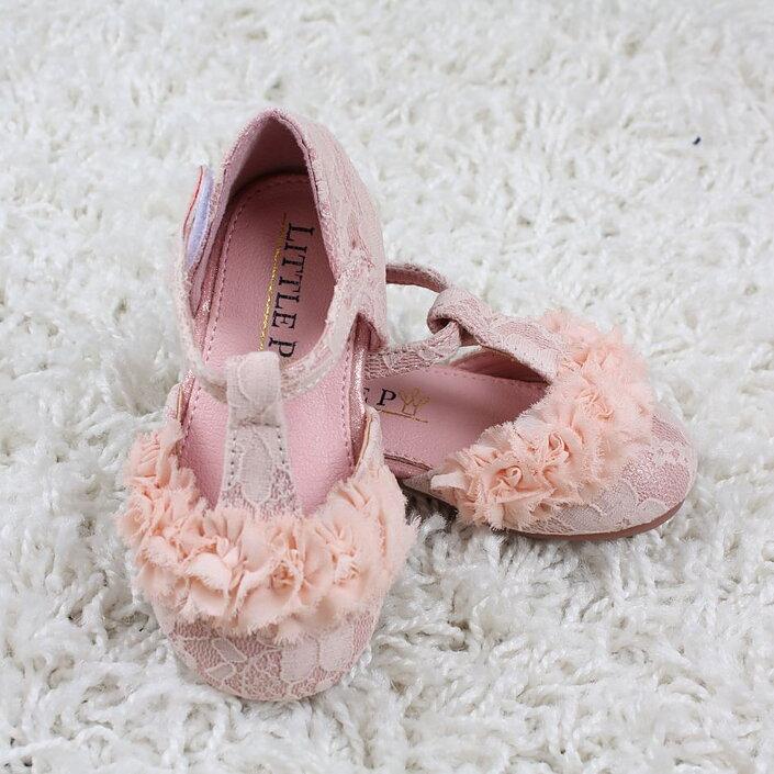 7f7761623f05 Rosa ballerina i spets och chiffong baby