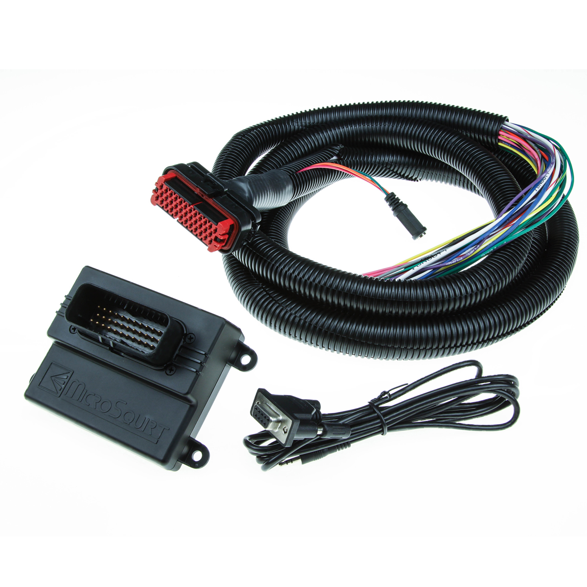 microsquirt engine management system with 2 4m wiring harness - zonning's