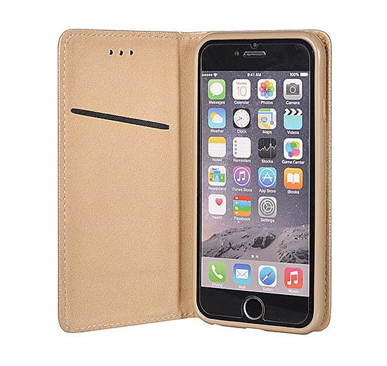 Plånboksfodral iPhone 7 8 Gold Magnet Case - MissDiva 1080ffe75bad6