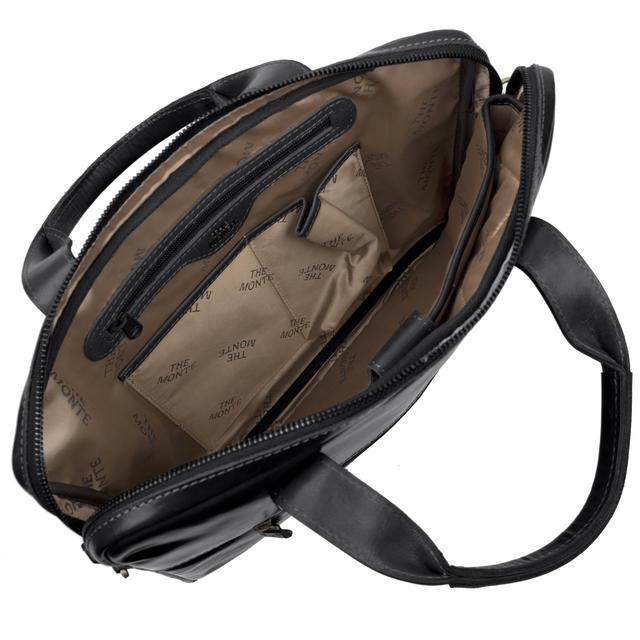 Startsidan SweSac Väskor. Portfölj The monte portfölj macbook Svart.  Previous. Next 3d5106d55c4ca