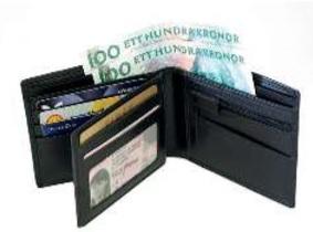 Plånbok Dollarmodell - SweSac Väskor d160a3bed3082