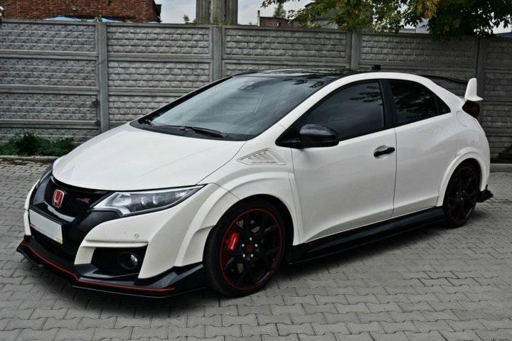 honda civic type r fk2 front spoiler auto accessories. Black Bedroom Furniture Sets. Home Design Ideas