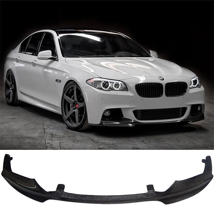 BMW 535I M Sport >> BMW F10 F11 M5 carbon fiber front lip V-Style - Car Accessories