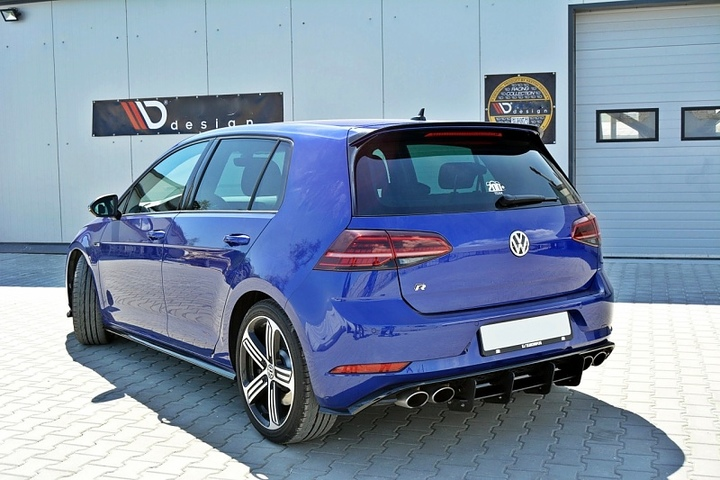 Volkswagen Golf 7 R Roof Spoiler Auto Accessories