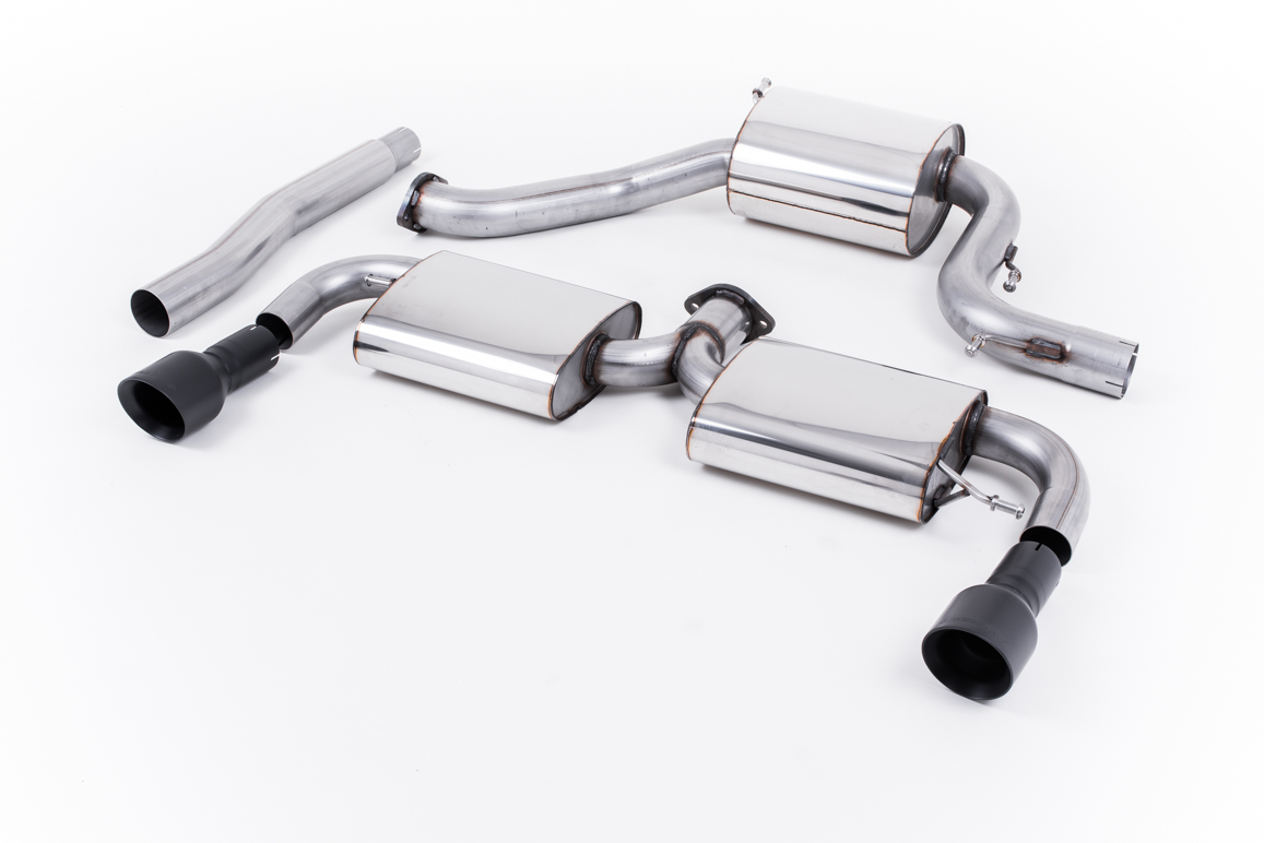 Volkswagen Scirocco R Milltek Sport Catback Exhaust System Gt Pipes: Cat Back Exhaust Systems At Woreks.co