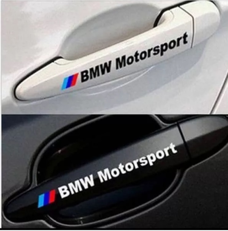 bmw motorsport stickers auto accessories