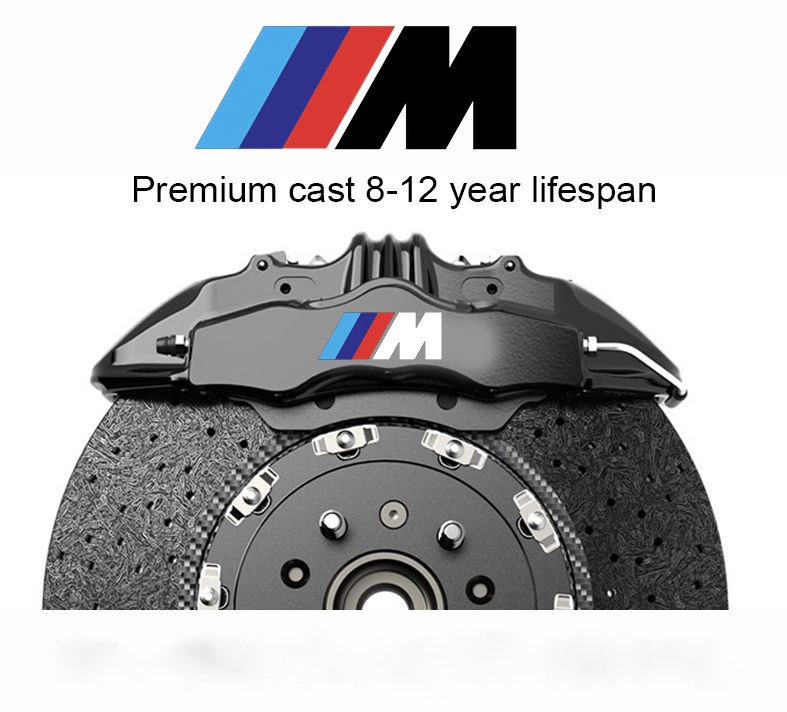 Bmw M Sticker Decal Brake Caliper Auto Accessories