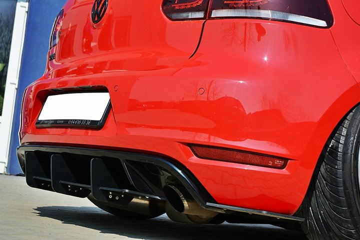 volkswagen golf mk6 gti rear diffuser car accessories