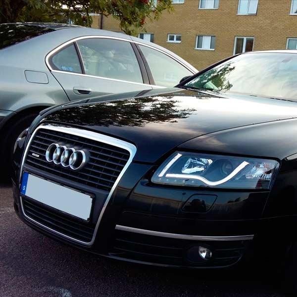 C Audi A Black on audi matte blue vinyl, audi s4, stanced audi s6 c6, audi a2, 2006 a6 c6, audi stretch and poke,