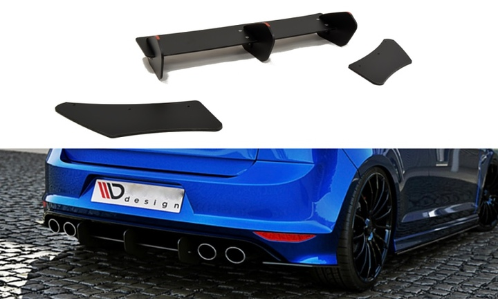 Volkswagen Golf 7 R rear diffuser - Car Accessories