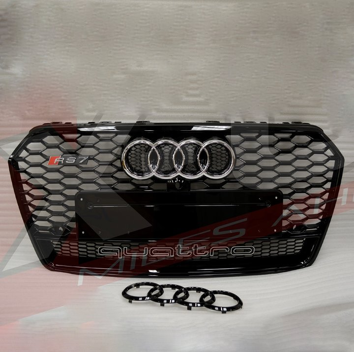 Audi Rs7 Quattro Grille 2015 2017 Car Accessories