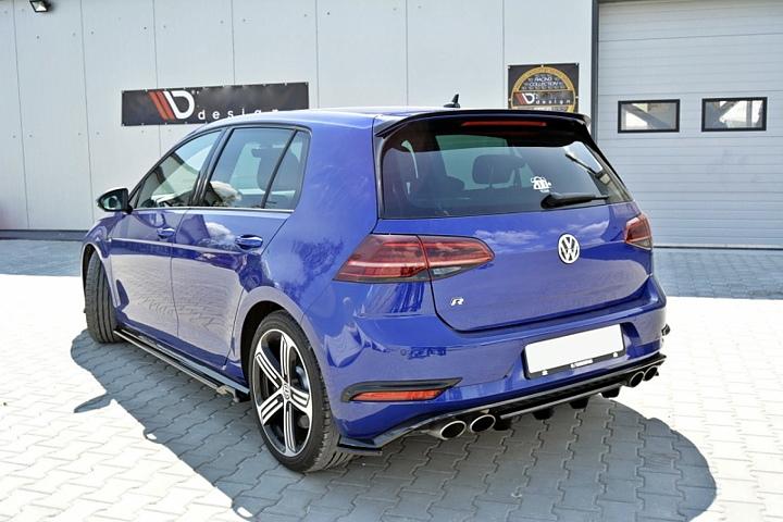 Lieblings Volkswagen MK7 R rear diffuser - Car Accessories @GJ_48