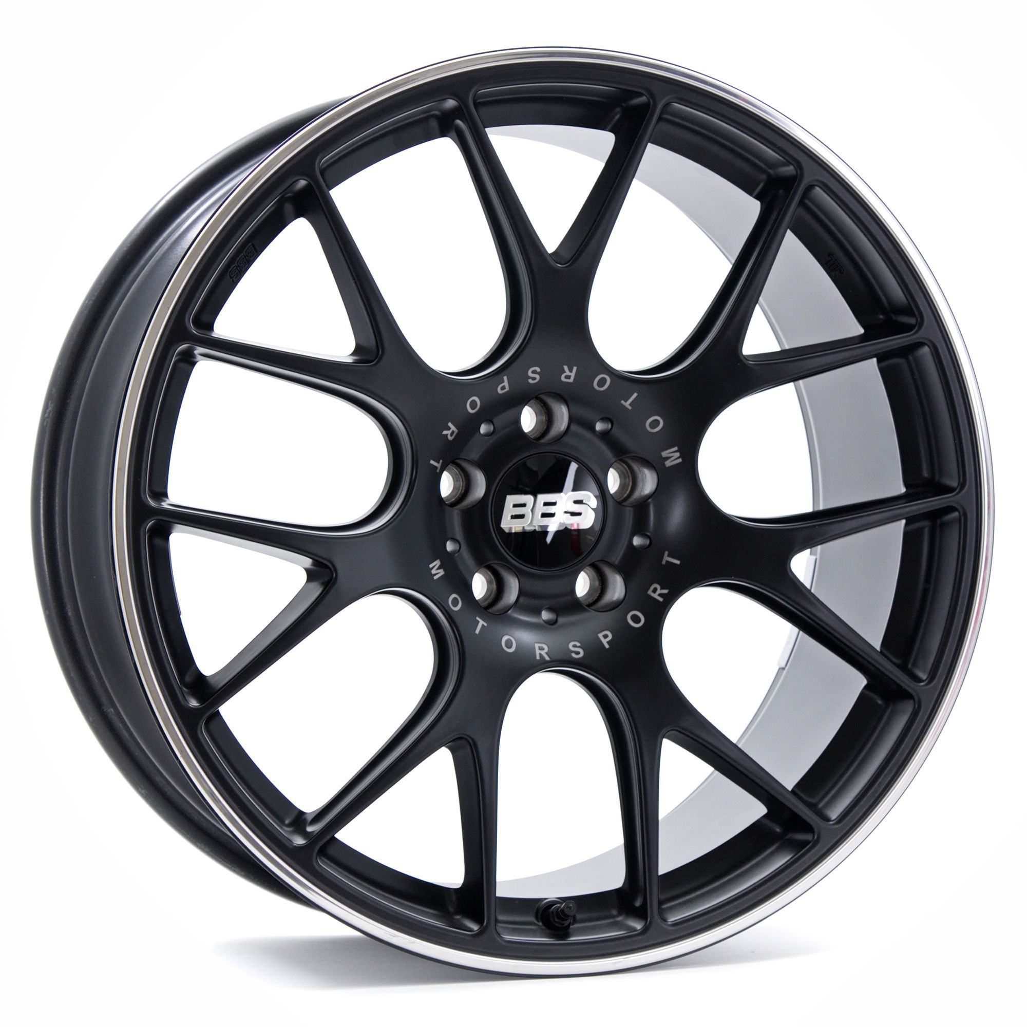 BBS CH R Matt Black rims Auto Accessories