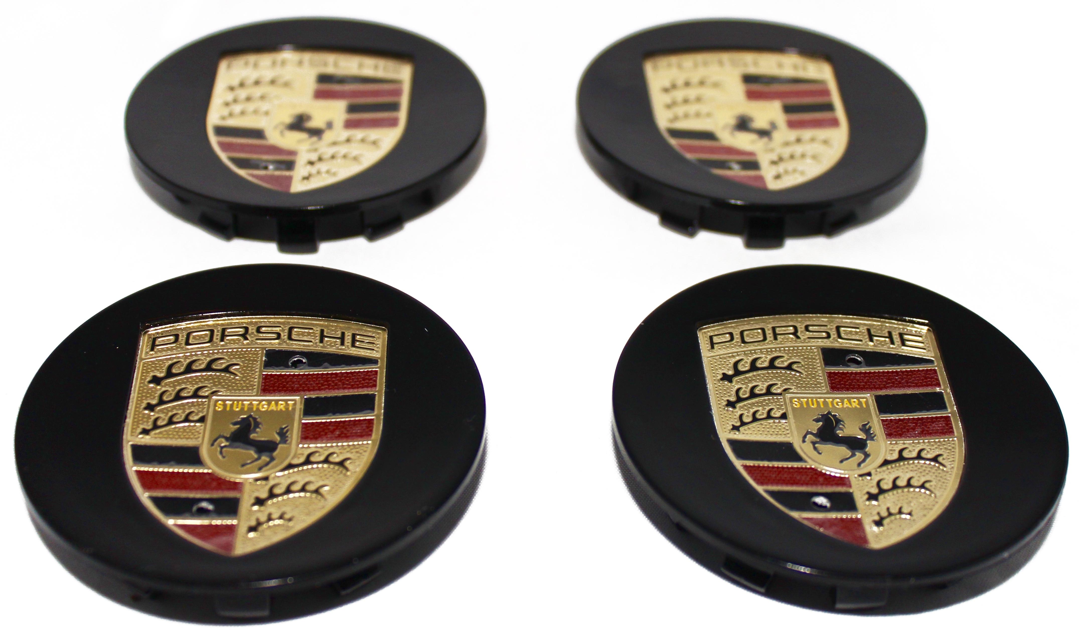 Porsche Wheel Center Hub Cap Rim Emblem Auto Accessories