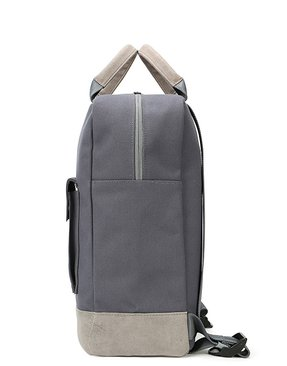 321f5e296 Mi-Pac Tote Backpack Canvas Backpack Charcoal - Standtall.se