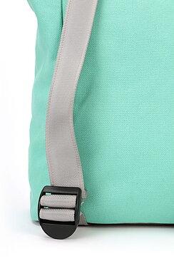 76fb903e7ea Mi-Pac Day Pack Contrast Canvas Backpack Mint/Pastel Lemon ...