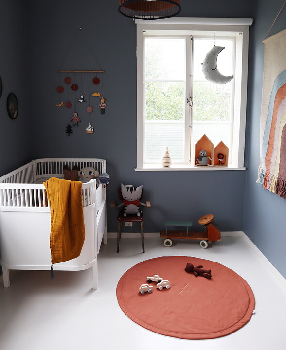 Willieandmillie play mat, rusty red, limited edition
