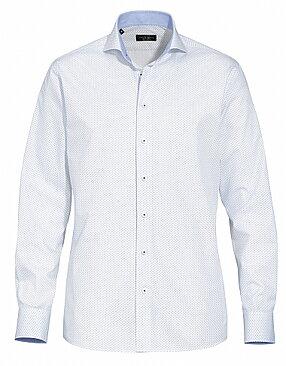 Mönstrad herr   dam skjorta med brodyr  8f3fe6e367003