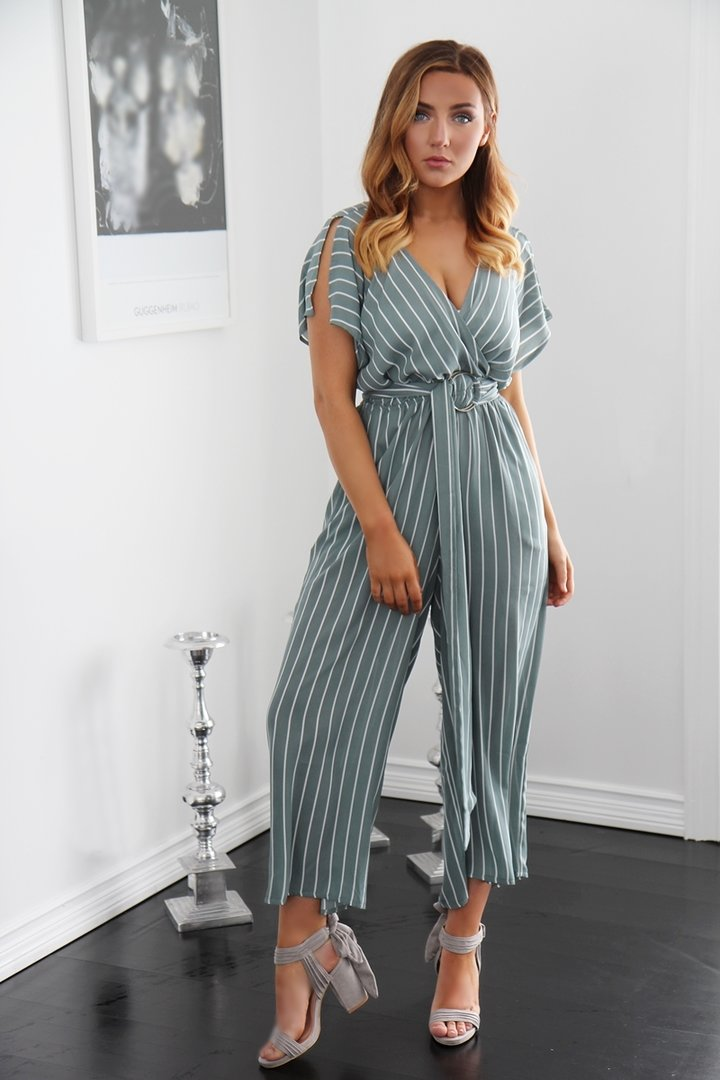 46e3cdeaa1c4 CELINE JUMPSUIT DUSTY TURQUOISE GREEN - STYLE LEVEL.com