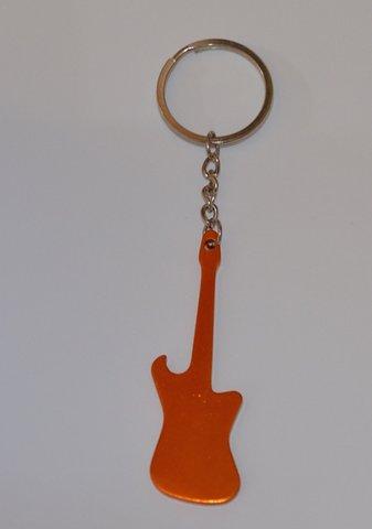 Nyckelring Metallic Gitarr Orange 30f1d028760d6
