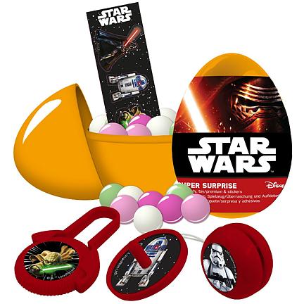 Star Wars Super Surprise Eggs (10 g) - OBS! Bäst före 2019-04-25