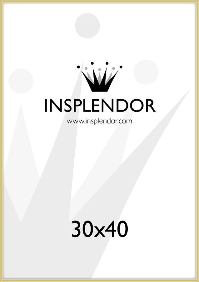 Buy frames online - Gold frame, 30x40 cm - Insplendor.com