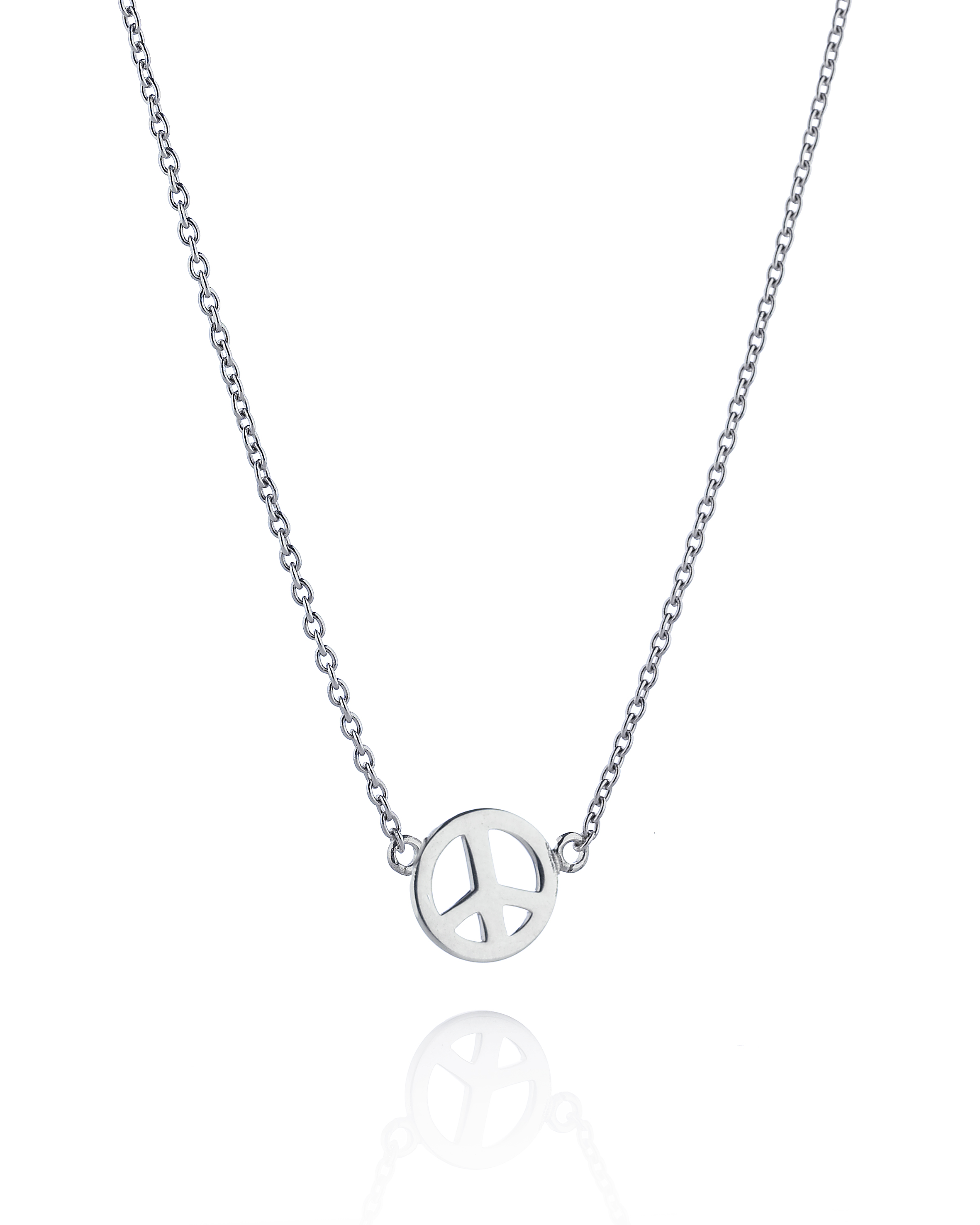 Mini Peace Necklace - Herbertsguldshop ba8913461a2ec