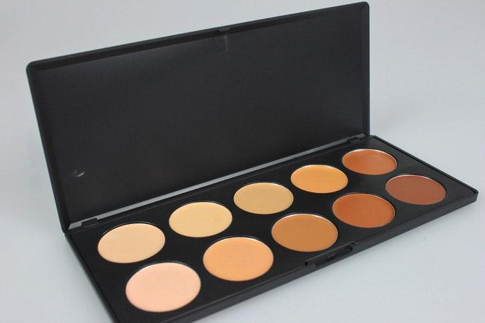 Tapered Highlighter Top Quality gethår Makeup borstar